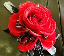 Large Rose Corsage