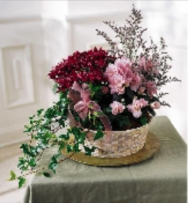 Blooming Basket Wicker