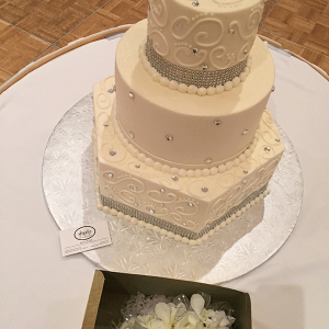Matching Cake & Corsages