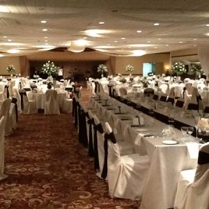 Wedding Hall Table Decor